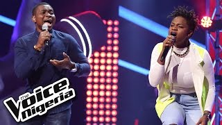 Brenda vs David: 'Try Sleeping With A Broken Heart' / The Voice Nigeria 2016