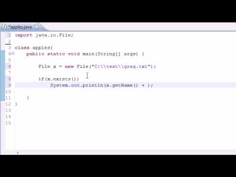 Java Programming Tutorial - 78 - File Class