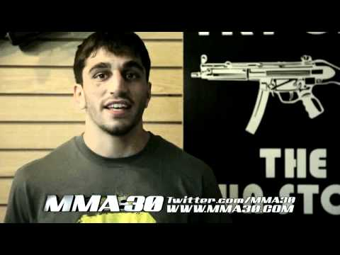 TUF 13 Finale Ramsey Nijem Talks About The Knock Out