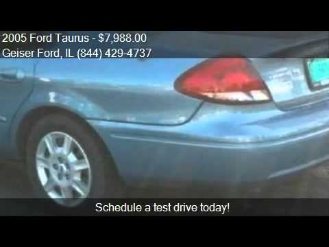 2005 Ford Taurus SE for sale in Roanoke, IL 61561 at the Gei