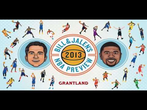 Bill and Jalen 2013 NBA Preview Part 2 (Audio)