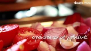 Cuscús con verduras al horno