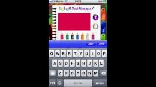 Color Text Messages YouTube video