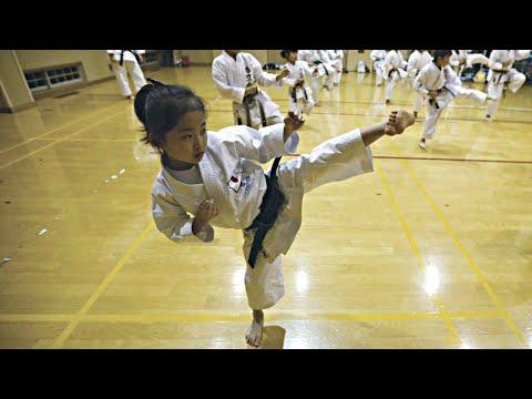When Little Kids Practice Martialarts !! Girls Edition
