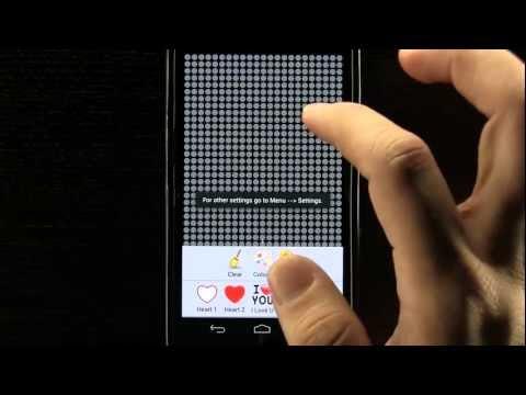 Video of LED Light Fun + Flashlight