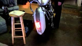 8. Integrated Taillight 2008 V-Star 1100 Classic