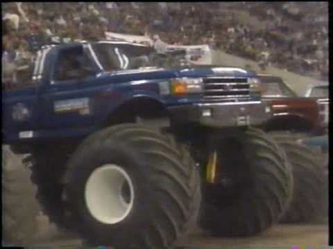 1988 RENEGADE / TNT MONSTER TRUCK CHALLENGE ROUND 2 FROM THE INDIANA HOOSIER DOME