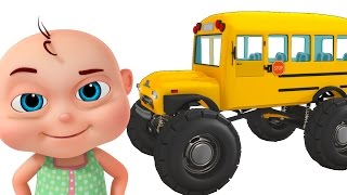 Video Monster School Bus Assembly | Construction Vehicles For Kids | Videos For Toddlers MP3, 3GP, MP4, WEBM, AVI, FLV Juli 2017