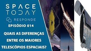 Qual a Diferença Entre o Hubble, o James Webb e o WFIRST? - Space Today Responde Ep.014 by Space Today
