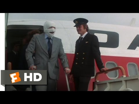 Trail of the Pink Panther (5/11) Movie CLIP - Off the Plane (1982) HD