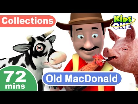 Old MacDonald | Ten in the Bed & More Popular Nursery Rhymes | 72 Mins Compilation for Children