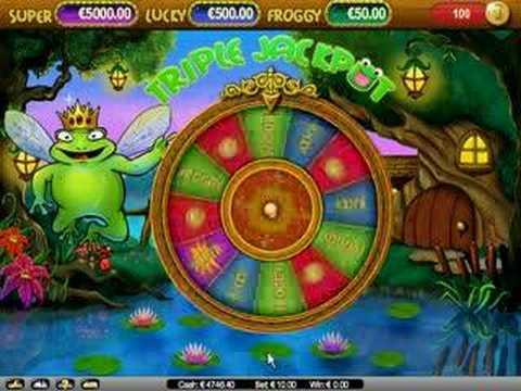 Super Lucky Frog Bonus Round