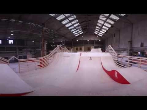 Ramp 1 Indoor Skatepark - Section Highlights