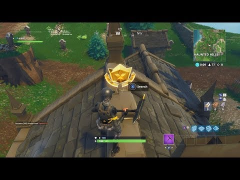 Follow the Treasure Map Found in Snobby Shores Location BATTLE STAR WEEK 5 SEASON 5 FORTNITE!!!