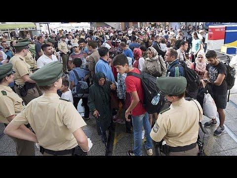 Γερμανία: Αυξάνονται οι αφίξεις μεταναστών, άμεση αντίδραση της ΕΕ ζητά η Μέρκελ