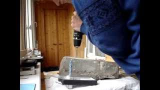 Видео 005 Тестирование дома бетон