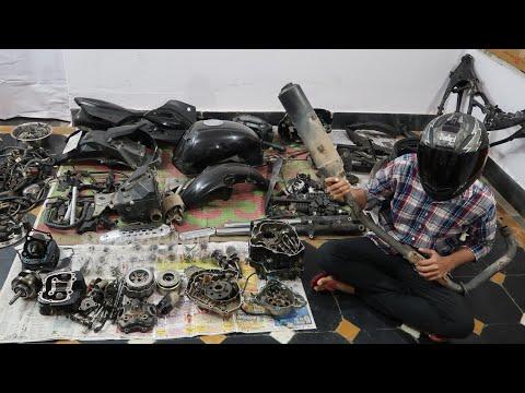 Part 1 : Pulsar 180 Build : Dismantling