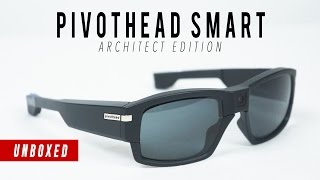 The Pivothead Smart Architect Edition video recording glasses have finally arrived to those of us who back their Indiegogo campaign. For me, it is a highly anticipated and exciting day because they've packed some amazing technology into these glasses. The glasses capture 1080p30, 720p60 or 720p30 video and 8MP still images. If you get the Live Smartmod, you will be able to tether to your phone, tablet or connect through a computer to a wifi network to stream your POV.  I'll be back with a review once I get them charged up and get out to shoot with them.