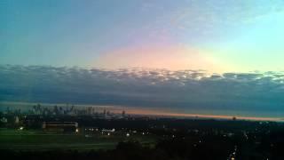 Sydney sunrise 25 Jun 2015