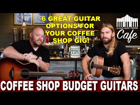 The Best Budget Priced Acoustic Guitars for your next Coffee Shop Gig!