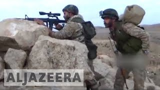 The Lebanese group Hezbollah says it is close to driving out Jabhat Fatah al-Sham fighters from the Syria-Lebanon frontier. Jabhat Fatah al-Sham is the former Syrian branch of al-Qaeda that was previously known as al-Nusra Front. Since Friday, the group and the Syrian army have been fighting against the group in the Juroud Arsal mountainous border area. If successful, the offensive would cement Hezbollah's control over the final section of Syrian border that is still vulnerable to infiltration from rival armed groups.Al Jazeera's Imtiaz Tyab reports Beirut.- Subscribe to our channel: http://aje.io/AJSubscribe- Follow us on Twitter: https://twitter.com/AJEnglish- Find us on Facebook: https://www.facebook.com/aljazeera- Check our website: http://www.aljazeera.com/