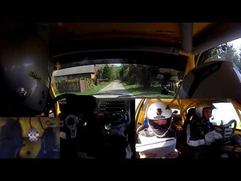 2 Runda Rajdowy Puchar Śląska 2018 - [OS2 onboard] OesRecords Rally Team