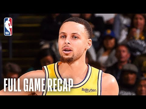 Video: KINGS vs WARRIORS | Curry Knocks Down 10 3-Pointers | February 21, 2019