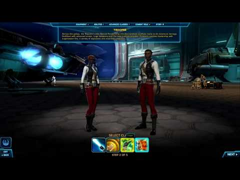 Let's Play – Star Wars: The Old Republic – Part 1 – A New Hope