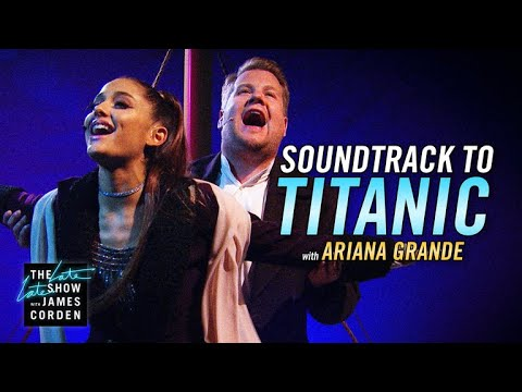 Soundtrack to Titanic w Ariana Grande  James
