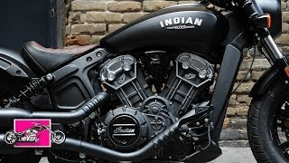 8. 2018 INDIAN MOTORCYCLES SCOUT BOBBER