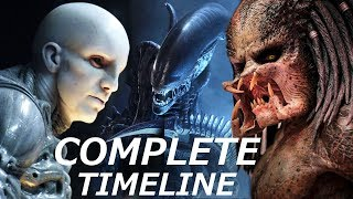 Video Predators Engineers & Aliens -  COMPLETE Timeline MP3, 3GP, MP4, WEBM, AVI, FLV November 2018