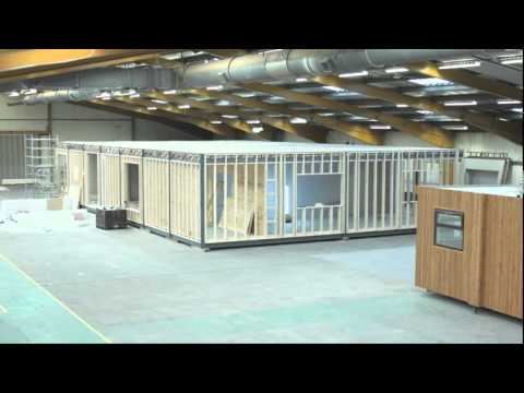 Eco Modular Buildings – Churchill Timelapse Video – portable buildings