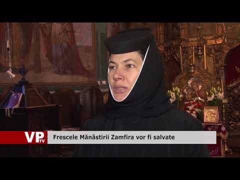 Frescele Mănăstirii Zamfira vor fi salvate