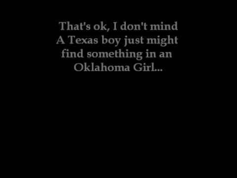 Tekst piosenki Eli Young Band - Oklahoma Girl po polsku