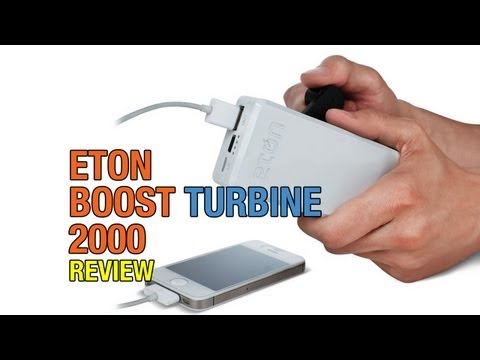 eton - Eton BoostTurbine 2000 Battery Pack Review ... a backup battery is nothing new, but what if you don't have access to mains power to charge it? That is where ...