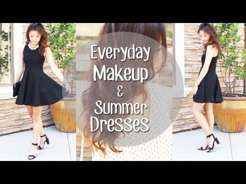 Everyday Makeup Routine + Summer Dresses LookBook