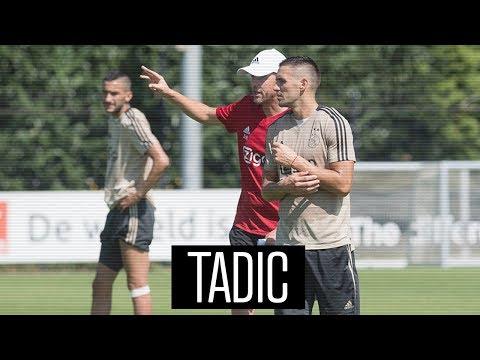 Dusan Tadic laat zich meteen zien bij eerste training