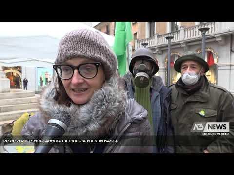 18/01/2020   SMOG: ARRIVA LA PIOGGIA MA NON BASTA