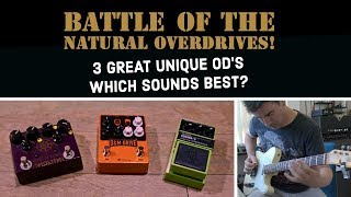 Download Lagu BATTLE OF THE NATURAL OVERDRIVES! Which sounds best? Mp3