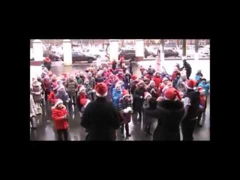 ПЕРВОКЛАССный новогодний флешмоб от учеников Базовой школы