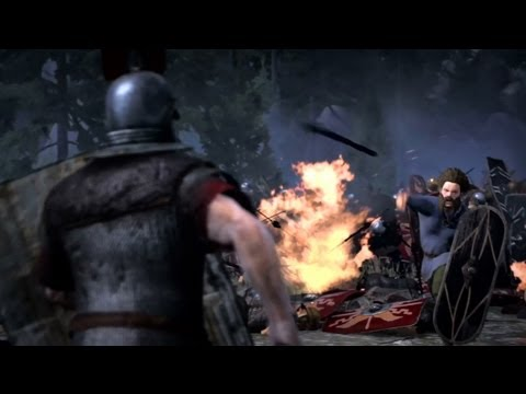 Total War: Rome II Reveals Battle of Teutoburg Trailer