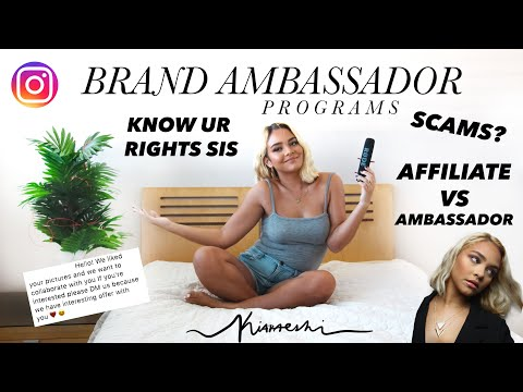 INSTAGRAM BRAND AMBASSADORS - Should You Go Through With It?