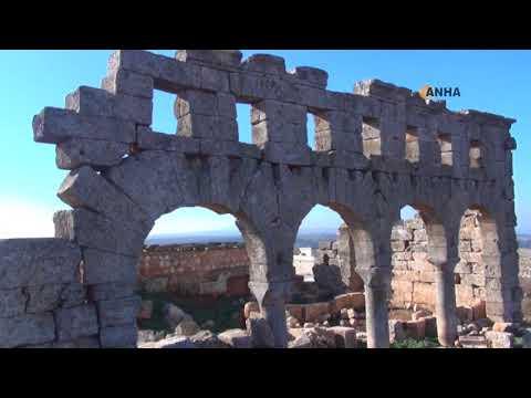 Efrîn'de bulunan 4 tarihi ve kültürel mekan bombalandı