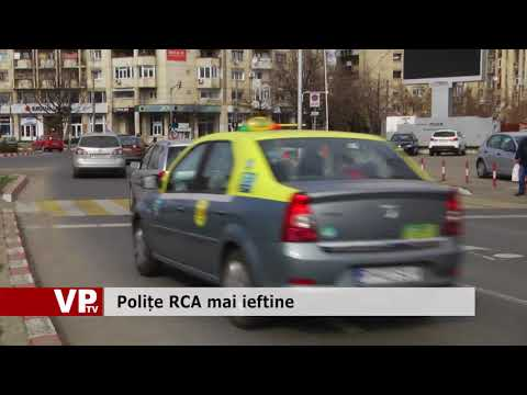 Polițe RCA mai ieftine