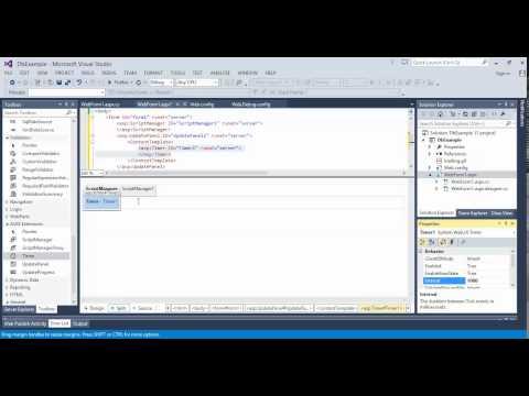 asp.net timer شرح عمل عداد - Ajax extension #3