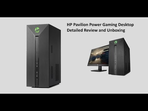 HP Pavilion Power Gaming Desktop Detailed Review and Unboxing