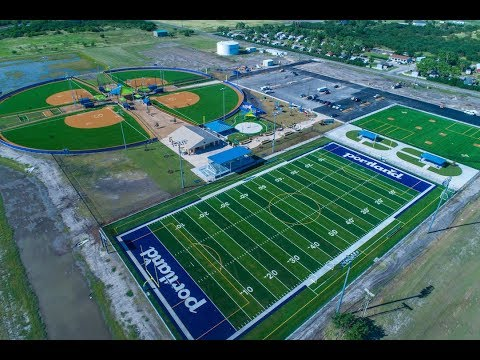 Hellas Builds City of Portland Texas Municipal Park and Sports Complex