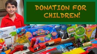 Toy donation for children by Will-Haik! (#1)
