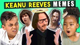 Video Kids React To Keanu Reeves Memes (Always Be My Maybe, Sad Keanu, Cyberpunk 2077) MP3, 3GP, MP4, WEBM, AVI, FLV Juni 2019