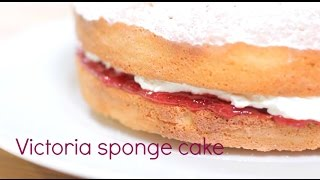 Always perfect Victoria sponge cake